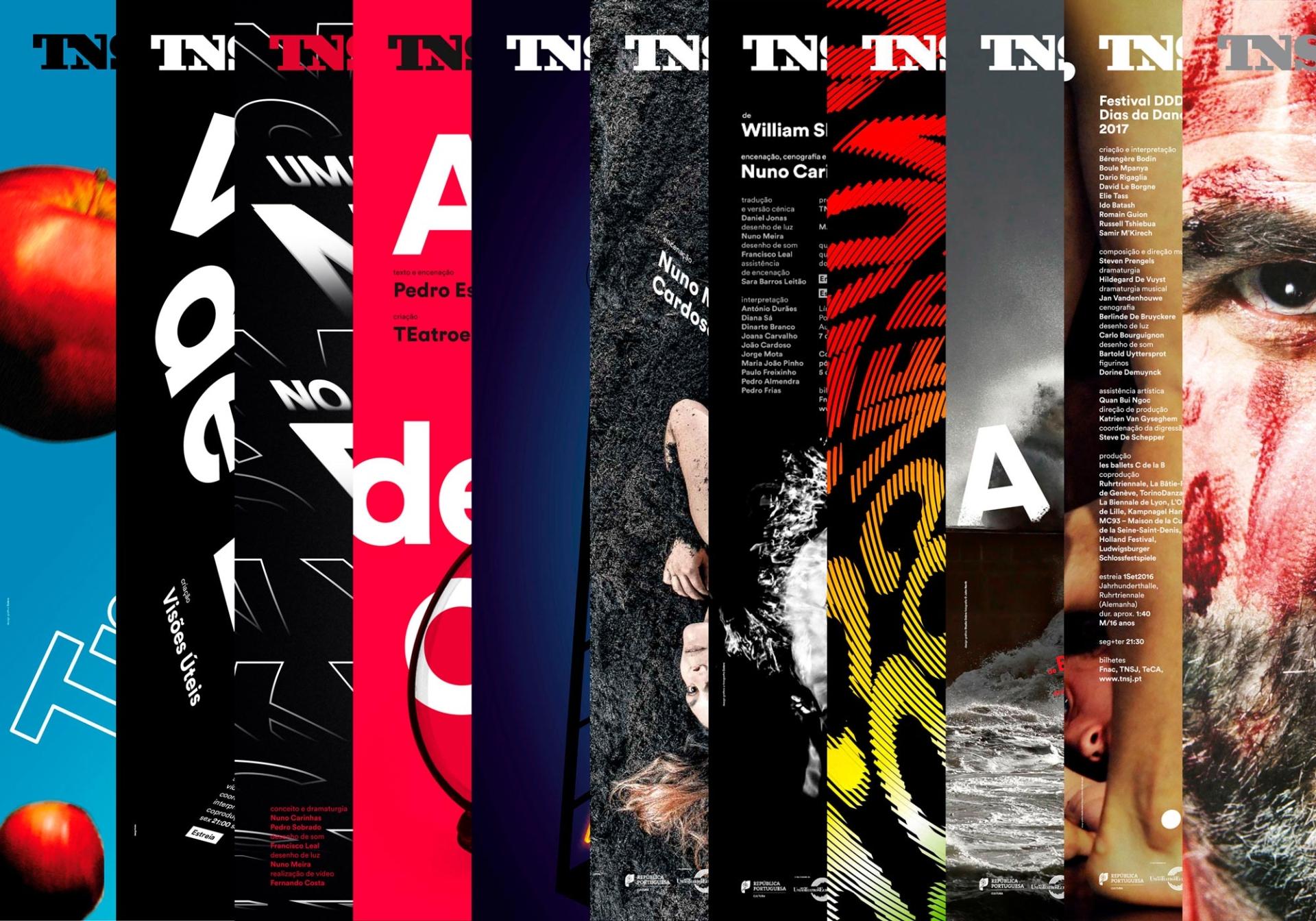 São João National Theatre Posters 2017-2018