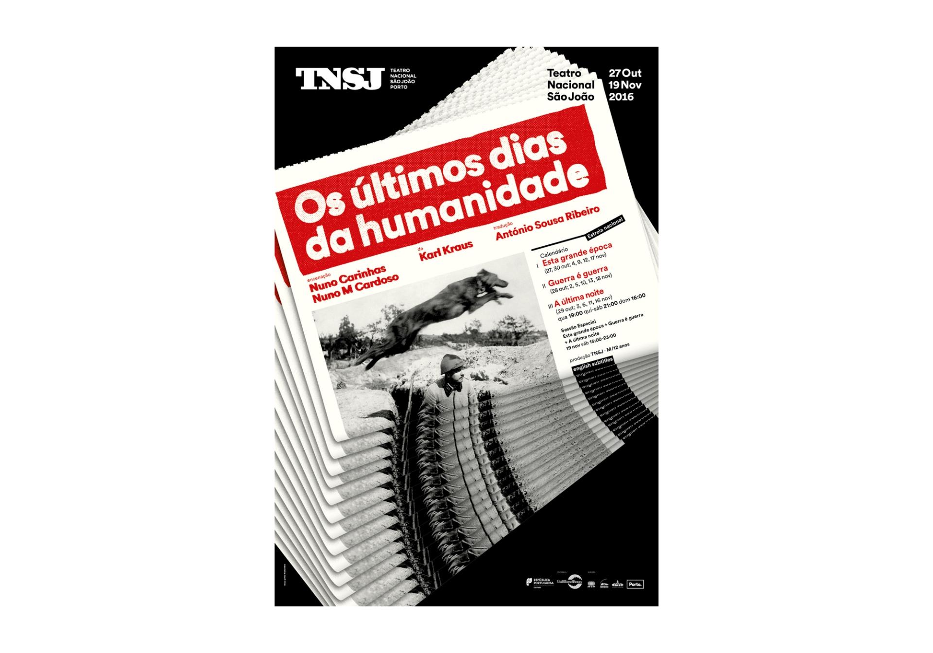 São João National Theatre Posters 2015-2016 Image:1 dobra-tnsj-Humanidade