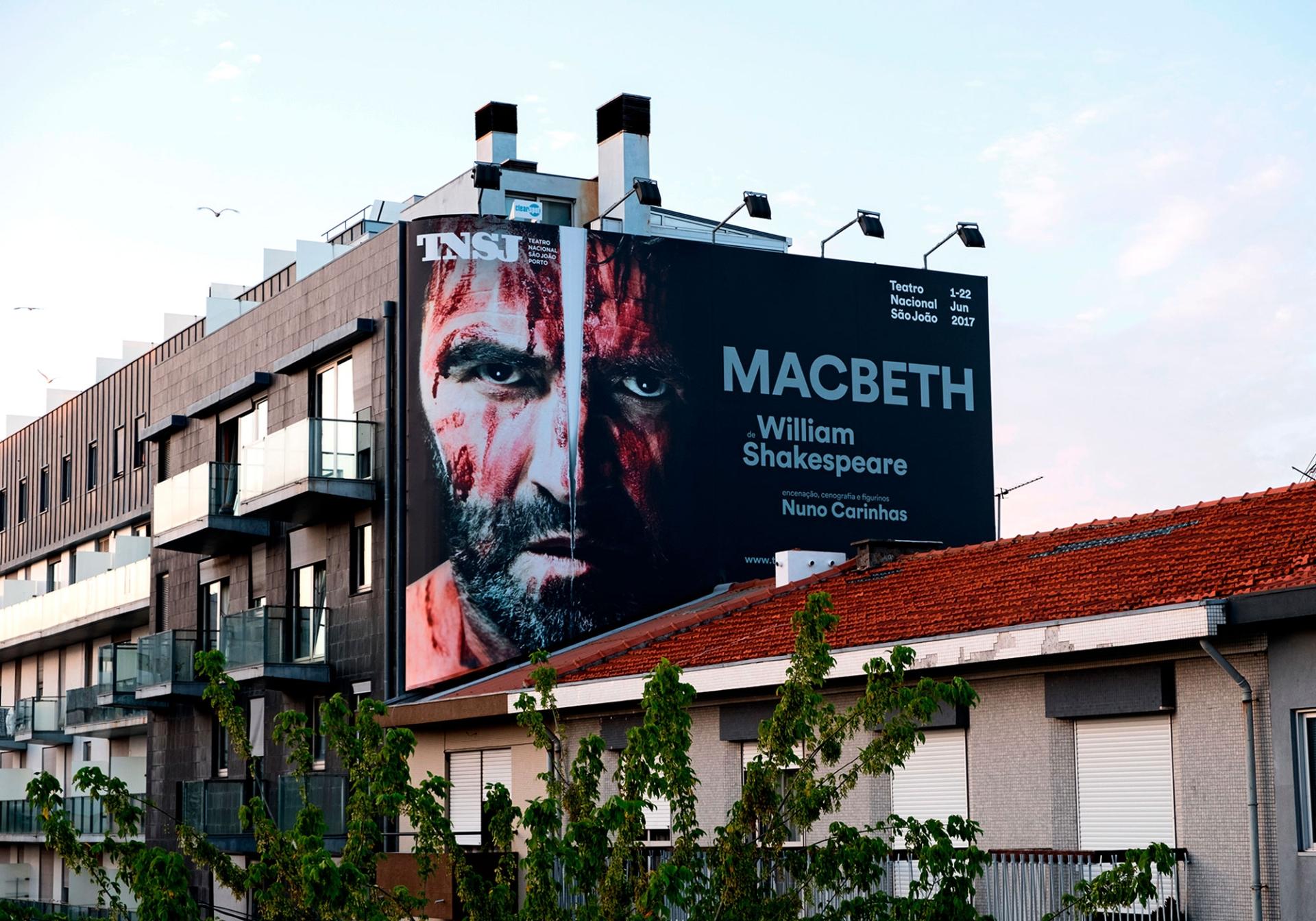 São João National Theatre Posters 2017-2018 Image:9 dobra-tnsj-Macbeth-01