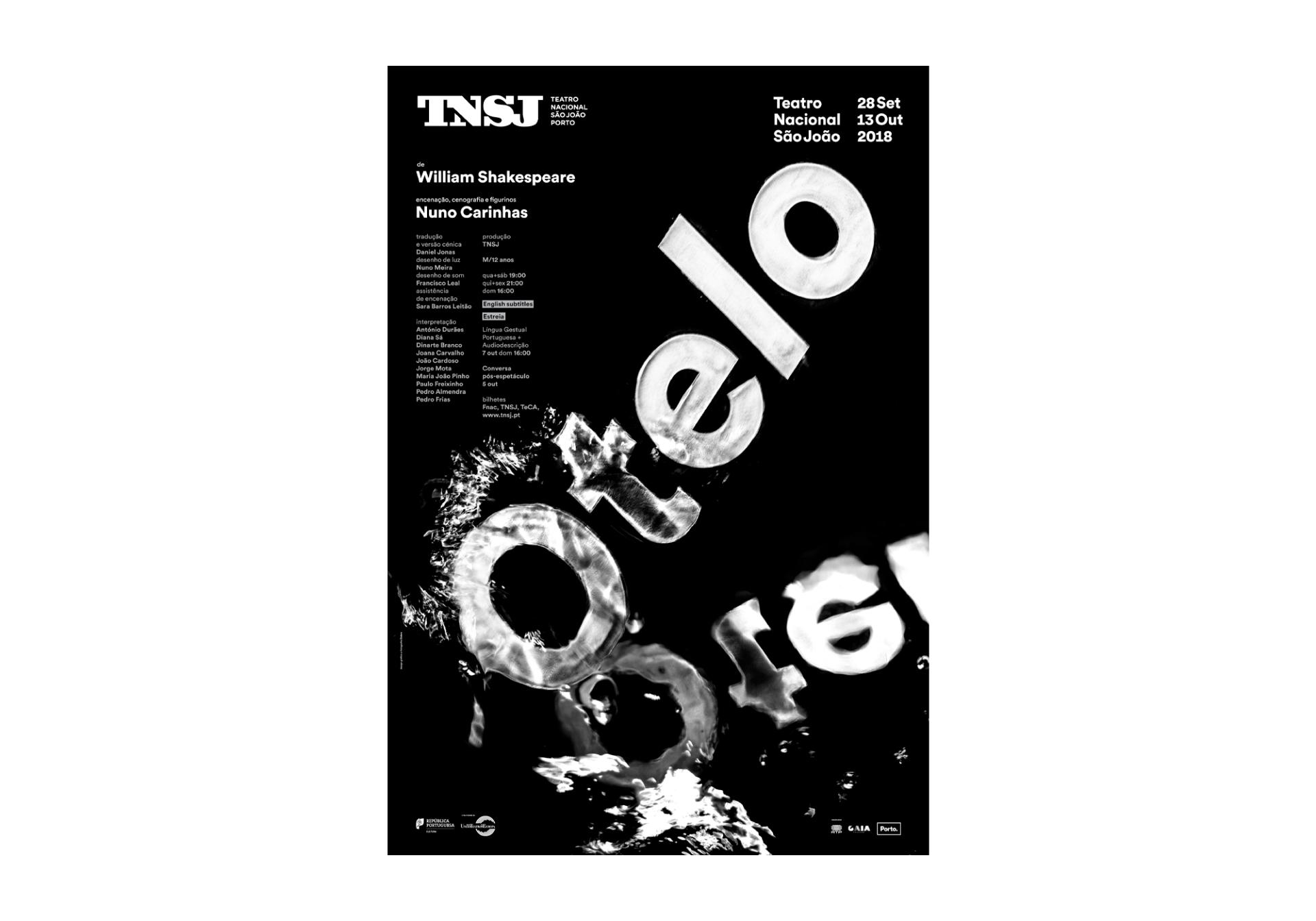 São João National Theatre Posters 2017-2018 Image:4 dobra-tnsj-Otelo