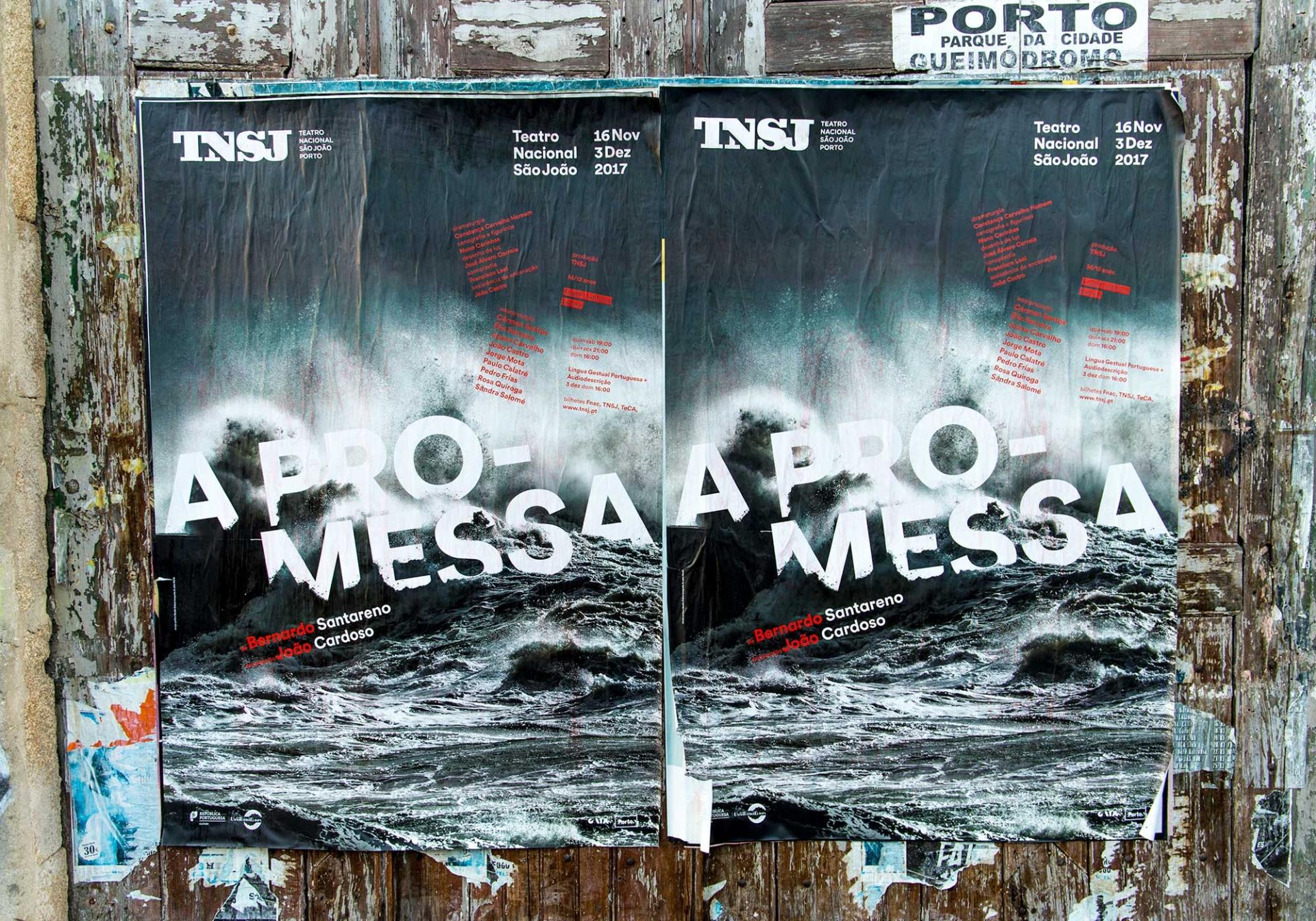 São João National Theatre Posters 2017-2018 Image:7 dobra-tnsj-Promessa
