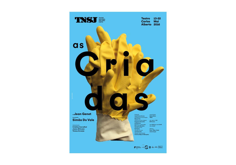 São João National Theatre Posters 2015-2016 Image:2 dobra-tnsj-Criadas